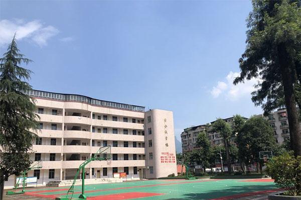 雅安市职业高级中学教学楼