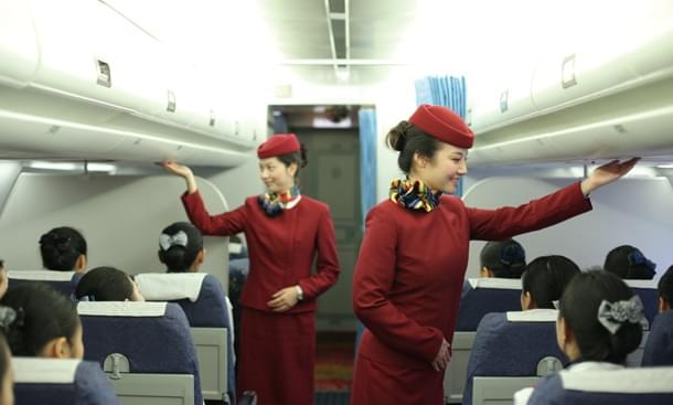 航空乘务练习